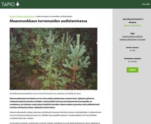 Metsänhoitokortiston tietokortti